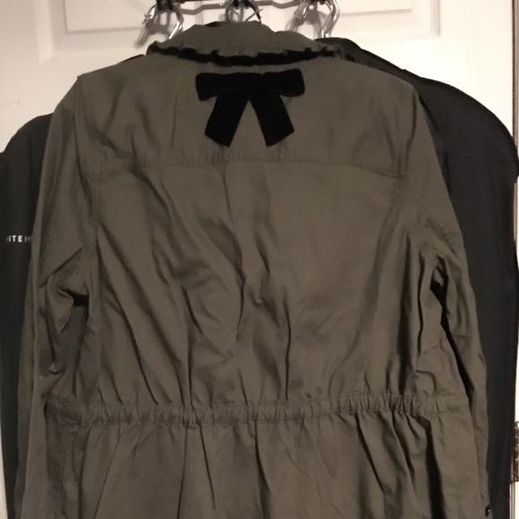 kate spade Jackets & Blazers - Kate Spade Ruffle Military Jacket